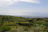 Berge bei Lagoa, Santo Antao, Kapverden, Afrika