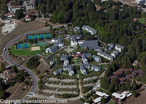aerial photograph University of California Santa Cruz, UCSC, California