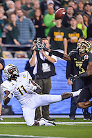 January 01, 2014:<br /> <br /> UCF Knights wide receiver Breshad Perriman #11 looks to catch a pass during Tostitos Fiesta Bowl at University of Phoenix Stadium in Scottsdale, AZ. UCF defeat Baylor 52-42 to claim it's first ever BCS Bowl trophy.