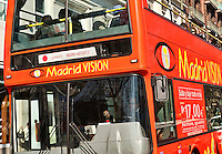 Madrid Vision city tour bus, Madrid, Spain
