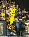 10.05.2019, EWE Arena, Oldenburg, GER, easy Credit-BBL, EWE Baskets Oldenburg vs Mitteldeutscher BC, im Bild<br /> vor dem ersten Heimspiel<br /> Justin SEARS (EWE Baskets Oldenburg #0 ) Mladen DRIJENCIC (EWE Baskets Oldenburg #Trainer #Coach ) Nathan BOOTHE (EWE Baskets Oldenburg #45 )<br /> Foto © nordphoto / Rojahn