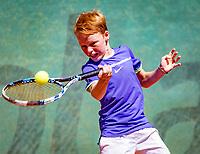 Hilversum, Netherlands, August 6, 2018, National Junior Championships, NJK, Tijl Forger (NED)<br /> Photo: Tennisimages/Henk Koster