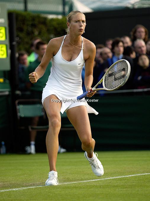 21-06-2004, London, tennis, Wimbledon, Sharapova