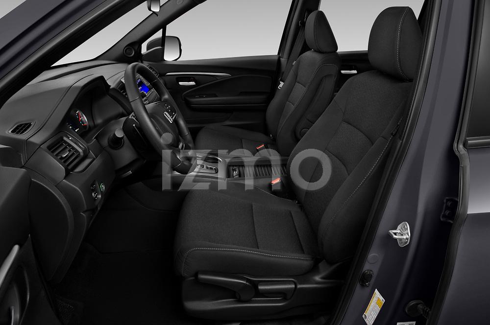 Front seat view of 2019 Honda Passport Sport 5 Door SUV Front Seat  car photos