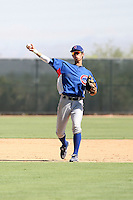 Hak-Ju Lee - Chicago Cubs - 2010 Instructional League.Photo by:  Bill Mitchell/Four Seam Images..