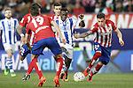 Atletico de Madrid's Jose Maria Gimenez (r) and Real Sociedad's Bruma during La Liga match. March 1,2016. (ALTERPHOTOS/Acero)