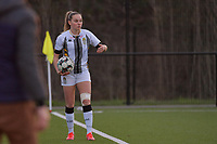 Renate Mehevets (15) of Charleroi pictured during a female soccer game between Sporting Charleroi and Oud Heverlee Leuven on the 17 th matchday of the 2020 - 2021 season of Belgian Scooore Womens Super League , tuesday 30 th of March 2021  in Marcinelle , Belgium . PHOTO SPORTPIX.BE | SPP | STIJN AUDOOREN