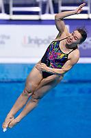 KESAR Viktoriya UKR<br /> 3m Springboard Women Preliminary<br /> Diving<br /> Budapest  - Hungary  15/5/2021<br /> Duna Arena<br /> XXXV LEN European Aquatic Championships<br /> Photo Giorgio Perottino / Deepbluemedia / Insidefoto