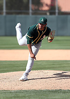 Jesus Zambrano - Oakland Athletics 2018 spring training (Bill Mitchell)