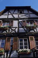 Europe/France/Alsace/68/Haut-Rhin/Turckheim : Maison