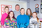 Saorlaith, Beiahinn, Markr, Ciara Moore, Doireann Dwyer and Ava Moore at the Pink Night in Kilcummin Klub bar on Saturday night