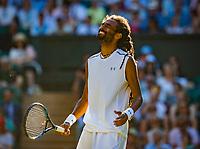 London, England, 5 th July, 2017, Tennis,  Wimbledon, Dustin Brown (GER)<br /> Photo: Henk Koster/tennisimages.com