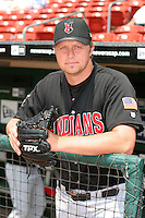 Indianapolis Indians Mike Johnston during an International League game at Dunn Tire Park on June 18, 2006 in Buffalo, New York.  (Mike Janes/Four Seam Images)