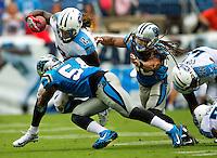 A preseason match up between the Carolina Panthers vs. The Tennessee Titans at Nissan Stadium in Nashville, TN.<br /> <br /> Charlotte Photographer - PatrickSchneiderPhoto.com