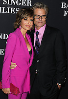 SANTA MONICA, CA, USA - OCTOBER 18: Lisa Rinna, Harry Hamlin arrive at Elyse Walker's 10th Annual Pink Party held at Santa Monica Airport HANGAR:8 on October 18, 2014 in Santa Monica, California, United States. (Photo by Celebrity Monitor)