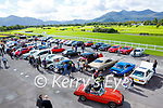 Some of the large crowd at the Killarney Valley Classic and Vintage car show in Killarney Racecourse on Sunday