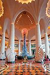 United Arab Emirates, Dubai: Atlantis the Palm Jumeirah Hotel, lobby