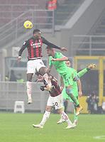 Milano  23-12-2020<br /> Stadio Giuseppe Meazza<br /> Campionato Serie A Tim 2020/21<br /> Milan Lazio<br /> nella foto:    Rafael Leo                                                      <br /> Antonio Saia