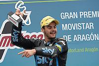 Aragon (Spagna) 28/09/2014 - gara Moto GP / foto Luca Gambuti/Image Sport/Insidefoto<br /> nella foto: Romano Fenati