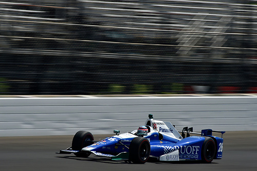 Verizon IndyCar Series<br /> Indianapolis 500 Carb Day<br /> Indianapolis Motor Speedway, Indianapolis, IN USA<br /> Friday 26 May 2017<br /> Takuma Sato, Andretti Autosport Honda<br /> World Copyright: Scott R LePage<br /> LAT Images<br /> ref: Digital Image lepage-170526-indy-9629