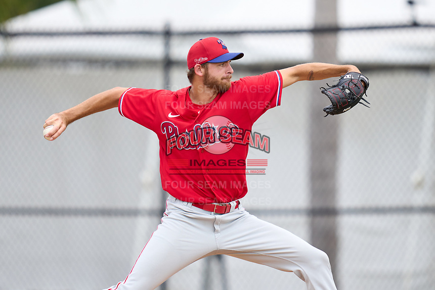 Philadelphia Phillies pitcher Tom Sutera (67) during an Extended Spring Training game against the New York Yankees on June 22, 2021 at the Carpenter Complex in Clearwater, Florida. (Mike Janes/Four Seam Images)
