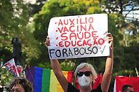 29/05/2021 - PROTESTO CONTRA JAIR BOLSONARO EM CURITIBA