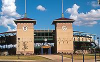 Ballparks: San Antonio, TX . Municipal Stadium, home of the Missions, 1995. Seats 6200.