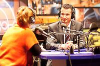 10-02-14, Netherlands,Rotterdam,Ahoy, ABNAMROWTT,, ,  Richard Kraijcek at Radio Rijnmond<br /> Photo:Tennisimages/Henk Koster