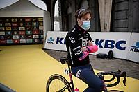 Alberto Bettiol (ITA/EF Education - Nippo) at the race start in Antwerpen<br /> <br /> 105th Ronde van Vlaanderen 2021 (MEN1.UWT)<br /> <br /> 1 day race from Antwerp to Oudenaarde (BEL/264km) <br /> <br /> ©kramon