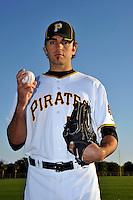 Feb 28, 2010; Bradenton, FL, USA; Pittsburgh Pirates  pitcher Virgil Vasquez (50) during  photoday at Pirate City. Mandatory Credit: Tomasso De Rosa/ Four Seam Images