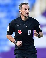 Referee Keith Stroud during Reading vs Stoke City, Sky Bet EFL Championship Football at the Madejski Stadium on 7th November 2020