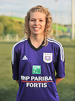 RSC Anderlecht Dames : Claudia De Frel<br /> foto David Catry / nikonpro.be