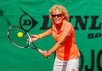 Hilversum, The Netherlands,  August 23, 2019,  Tulip Tennis Center, NSK, Karien Theewes (NED) <br /> Photo: Tennisimages/Henk Koster
