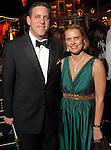 Matthew VanBesien and wife Rosie Jowitt at the Rice University Shepherd School of Music gala Thursday Feb. 19, 2009.(Dave Rossman/For the Chronicle)