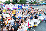 A representation of institutions at the protest Madrid Pride 2016. July 02. 2016. (ALTERPHOTOS/Borja B.Hojas)
