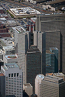 aerial photograph 345 California Center, Embarcadero Center San Francisco