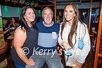 Enjoying the evening in Tatler Jacks in Killarney on Saturday, l to r: Karen Gould McInery, Colm McInery and Niamh Randles (Killarney).