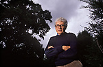 James Lovelock portrait. Gaia hypothesis author, scientist, environmentalist, futurist UK 1990s