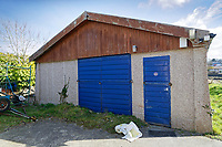Pictured: A scout hut near the slipway where the Mini car with Kiara Moore entered river Teifi from in Cardigan, west Wales, UK. Tuesday 20 March 2018<br /> Re: The funeral of two year old Kiara Moore, who died after being recovered from a silver Mini car found in river Teifi in Cardigan will be held today (Tue 27 Mar 2018) at Parc Gwyn Crematorium, Narberth, west Wales.<br /> Kiara was taken at the University Hospital of Wales in Cardiff after being rescued but was pronounced dead.<br /> It is believed the car she was in, rolled down a slipway while her mother got out momentarily to get cash out of the family business premises.<br /> Her parents Jet Moore and Kim Rowlands have expressed their grief on social media.