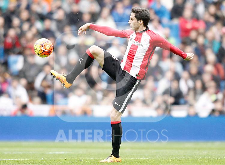 Athletic de Bilbao's Xabier Etxeita during La Liga match. February 13,2016. (ALTERPHOTOS/Acero)