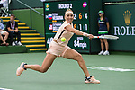 March 10, 2018: Elena Vesnina (RUS) defeated Cici Bellis (USA) 2-6, 6-1, 6-1 at the BNP Paribas Open played at the Indian Wells Tennis Garden in Indian Wells, California. ©Mal Taam/TennisClix/CSM