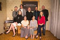 "Crew of the movie attend the presentation of the movie ""Musaranas"" in Madrid, Spain. December 17, 2014. (ALTERPHOTOS/Carlos Dafonte) /NortePhoto /NortePhoto.com"