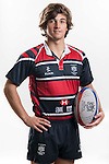 Hong Kong Junior Squad team member Hugo d'Auriol poses during the Official Photo Session Day at King's Park Sports Ground ahead the Junior World Rugby Tournament on 25 March 2014. Photo by Andy Jones / Power Sport Images