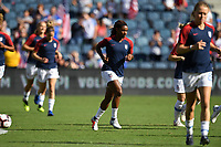 Kansas City, KS- Thursday July 26, 2018: 2018 Tournament of Nations match between the women's national teams of the United States (USA) and Japan (JPN) at the Children's Mercy Park.