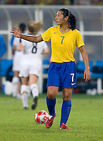 Daniela. The USWNT defeated Brazil, 1-0, to win the gold medal during the 2008 Beijing Olympics at Workers' Stadium in Beijing, China.
