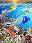 Lori, REALISTIC ANIMALS, REALISTISCHE TIERE, ANIMALES REALISTICOS, zeich, paintings+++++Ocean Wonders_72,USLS251,#a#, EVERYDAY ,puzzle,puzzles