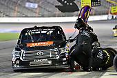 #51: Spencer Davis, Kyle Busch Motorsports, Toyota Tundra JBL/SiriusXM