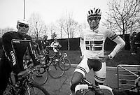 Milan-San Remo preparations..the day before.Erik Zabel & Alexander Kristoff