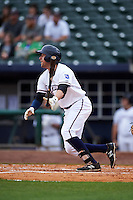 NW Arkansas Naturals outfielder Alex Liddi (22) at bat during a game against the San Antonio Missions on May 31, 2015 at Arvest Ballpark in Springdale, Arkansas.  NW Arkansas defeated San Antonio 3-1.  (Mike Janes/Four Seam Images)