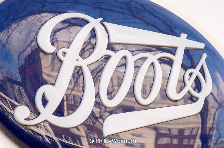 Boots store, London